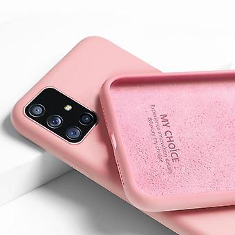 Originálne tekuté silikónové mäkké puzdro pre Samsung