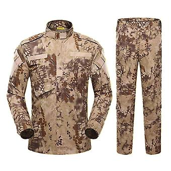 Costume tactique uniforme militaire de l'armée Acu Special Forces Combat Shirt Coat Pant