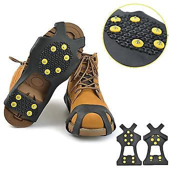 Universal Outdoor Safety Anti-skid Snow Ice Climbing Shoe Spikes Grip