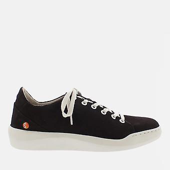 Bauk black smooth leather