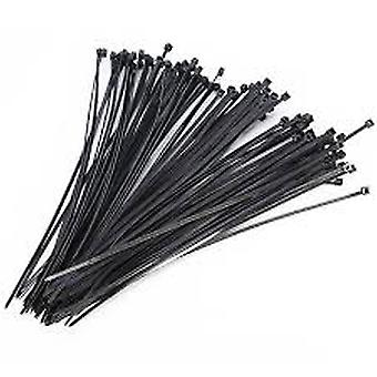 Assorted Self-locking Nylon Cable Plastic Loop Wire Wrap Zip Ties