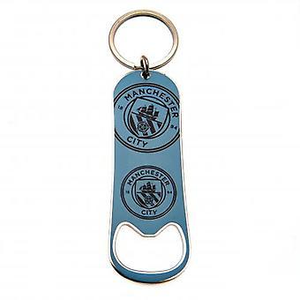 Manchester City fles Opener sleutelhanger