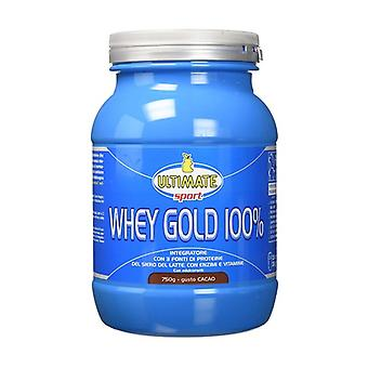 Whey Gold 100% Cocoa 750 g of powder