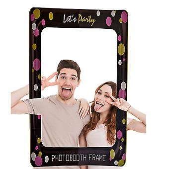 Let's Party Props Photo Booth Selfie Frame
