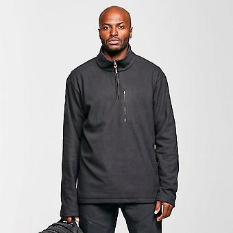 Brasher Men's Bleaberry II Half-zip Fleece Black