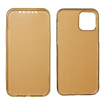 iPhone 12 Pro -yhteensopiva Full Cover | Kirkas TPU Rose Gold