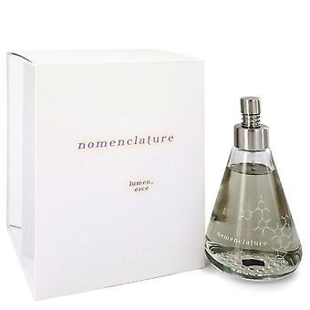Nomenclature Lumen Esce Eau De Parfum Spray By Nomenclature 3.4 oz Eau De Parfum Spray