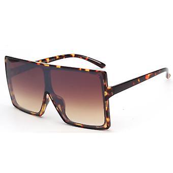 Solglasögon Män och Solglasögon Women Square - Brun Luipaard7229_6