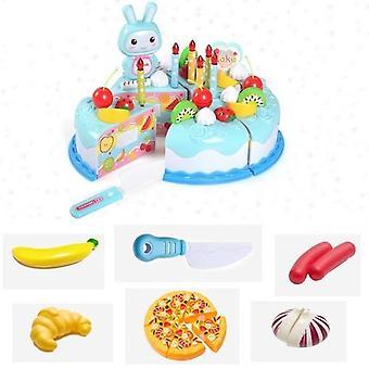 Kuchen-Essen, Diy vorgeben spielen Obst schneiden Spielzeug