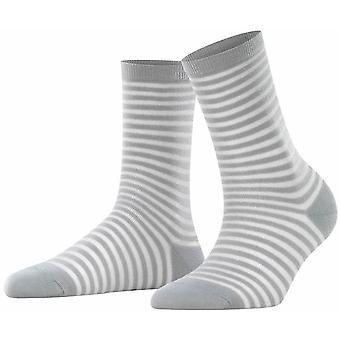 Falke Flash Rib Socks - Silver
