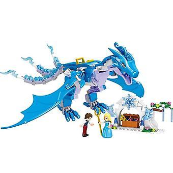 The Dragon Prince And Pirncess Building Blocks Kit, Bircks Figures Model