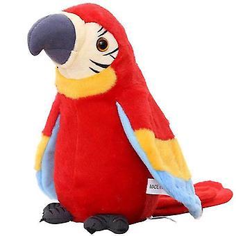Kinder elektrische Plüsch Papagei Fan Flügel Puppe