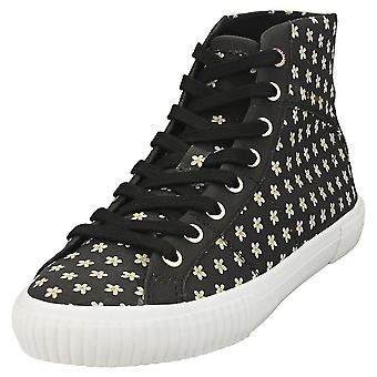 Ted Baker Kimial Womens Fashion Trainers in Black