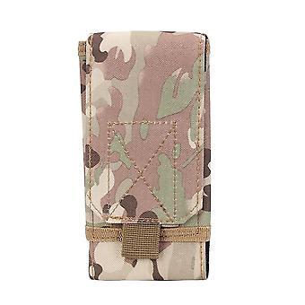 "5/6"" Military Pouch, Waist Bag- Running Holster Belt, Tactical Mobile Case"