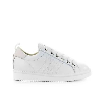 Pànchic White Leather Sneaker