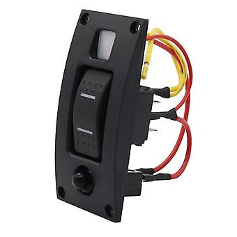 Marine Boat, Car Switch Panel, On-off-on, Waterproof With Built-in Circuit