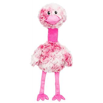 Trixie fugl plysj hund leketøy