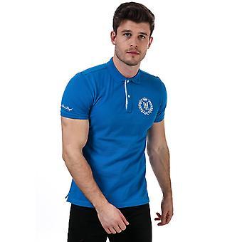 """Hombre"""", henri lloyd polo camisa en azul"""
