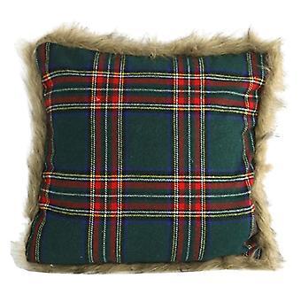 pillow Macbain45 cm textile green