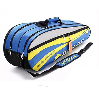 dobbel-dekk badminton bag stor tennis racket sports bag