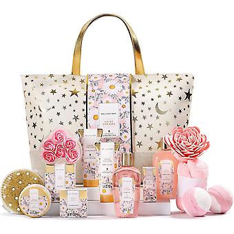 Gift Set for Women -  Spa Gift Set, 15pcs Bath Gift Set with Essential Oil, Bubble Bath, Body