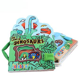 Dinosaurs Early Education Fabric Book Durable Soft Cloth Book For Toddlers 0-3