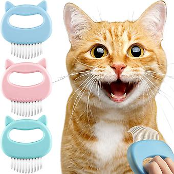 3 Pack Pet Massaging Brush Dogs Cats Grooming Shedding Cleaning Brush Hair 3 Pack Pet Massaging Brush Cats Grooming Shedding Cleaning Brush Hair 3 Pack Pet Massaging Brush Dogs Cats Grooming Shedding Cleaning Brush Hair 3 Pack