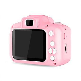 Hd Ekran Chargable Dijital Mini Kamera, Çocuk Çizgi Film Sevimli, Açık