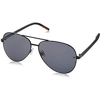 Tommy Hilfiger TJ 0008/S Sluneční Brýle, MTT Černá, 60 Unisex-Adult