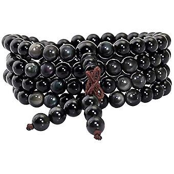 KYEYGWO 108 - Bracelet with Mala prayer pearls for men and women, 6 mm, with Tibetan Buddhist healing stone, unisex, Ref. 0635946998823