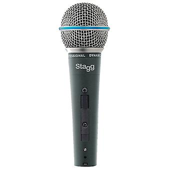 StagG SDM60 professionelle Cardioid dynamisk mikrofon