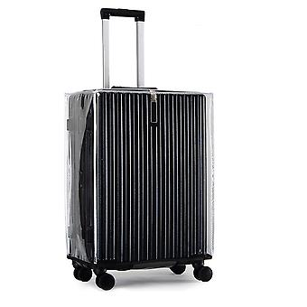 Swotgdoby Luggage Cover, Pvc Clear Plastic Suitcase Protector, Protector Bag