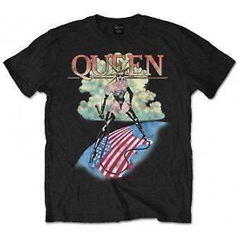 Dronning 'Elskerinne' Herre Stor T-skjorte - Svart
