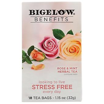 Bigelow Tea Rose And Mint, Case of 6 X 1.15 Oz
