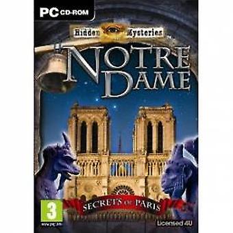 Hidden Mysteries Notre Dame Secrets in Paris Game PC