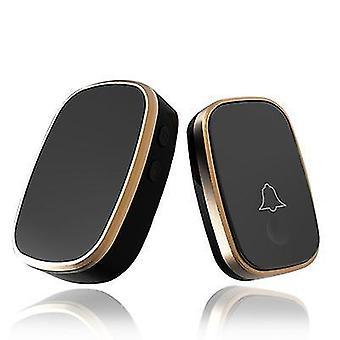 Remote Control Of Household Waterproof Doorbell(Black)