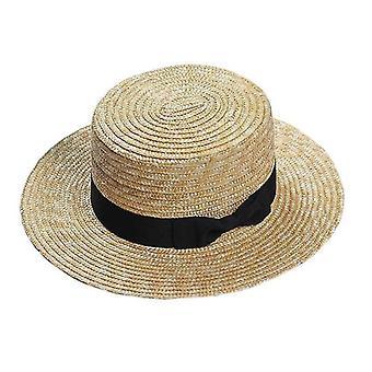 Vară, Wide Side Feminin Casual Panama Hat
