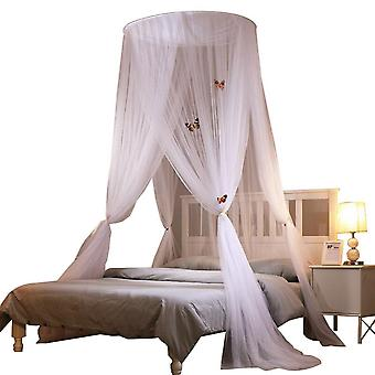 Homemiyn Luxury Mosquito Net Bed Canopy, Quick Easy Installation, Curtain Netting, Bed Canopy For Single To King Size Beds