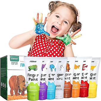 Finger Paints Non Toxic,washable Finger Paint Set(8 Color)