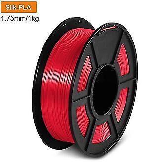 3D printer filament 1.75mm 1kg no tangles no bubbles silk pla filament for school home showroom
