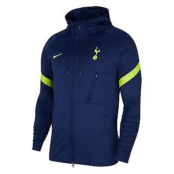 2021-2022 Tottenham Hætteklædte Strike Jacket (Navy)