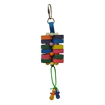 AE Cage Company Happy Beaks Starts and Bagels Bird Toy - 1 count