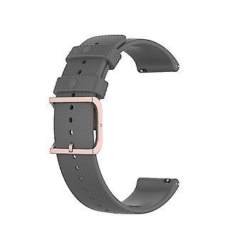 Polar Unite Armband Silikon Grau