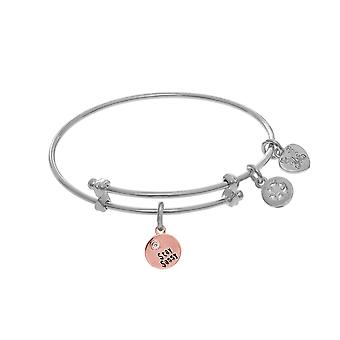 Stay Sassy Charm Adjustable Bangle Girls Bracelet