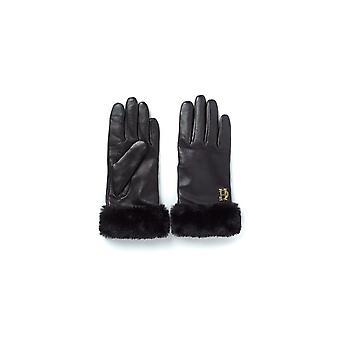 Holland Cooper Leather Trim Gloves