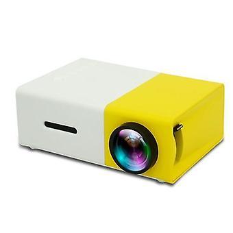 Mini projektor Yg300 Mini biela/žltá 1080p