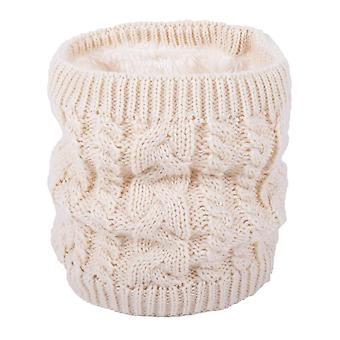 Eșarfă caldă în timpul iernii, eșarfă tricotată all-match pentru cupluri, culoare pură plus eșarfă de catifea