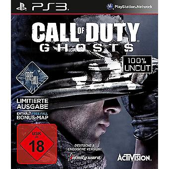 Call Of Duty Ghosts - Free Fall Edition PS3 Game