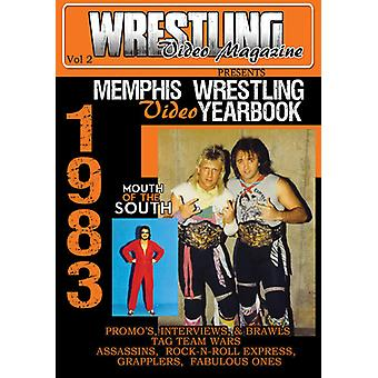 1983 Memphis Wrestling Video Yearbook Vo [DVD] USA import