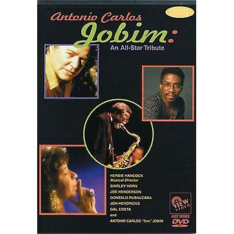 Jobim, Antonio Carlos - All-Star Tribute [DVD] USA import